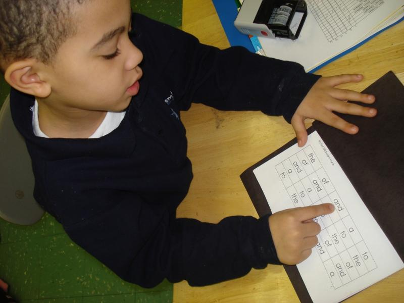 Student tracks his decoding skills