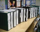 Binders for our Renewal Visit