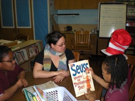 Jennifer 8. Lee at Read Across America
