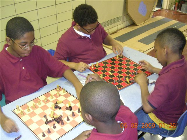 Chess during Friends & Family Fridays