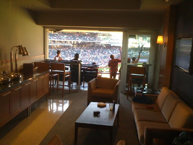 Our suite at CitiField