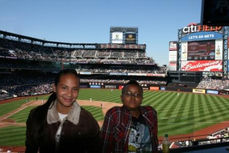 Mariah and Troy at CitiField