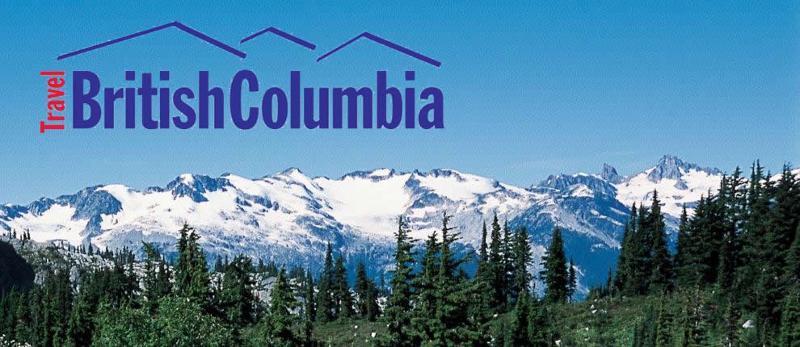 Mountain Range with Travel Logo