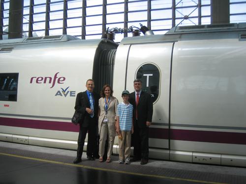 High speed rail Spain