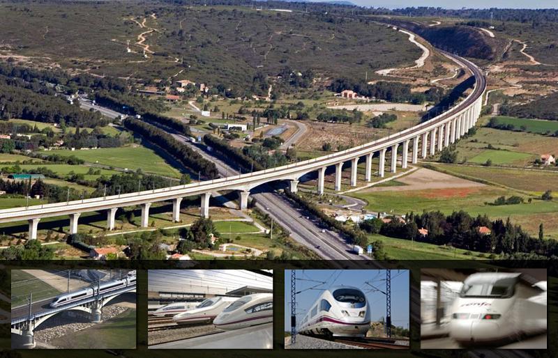 High Speed Rail Around the World