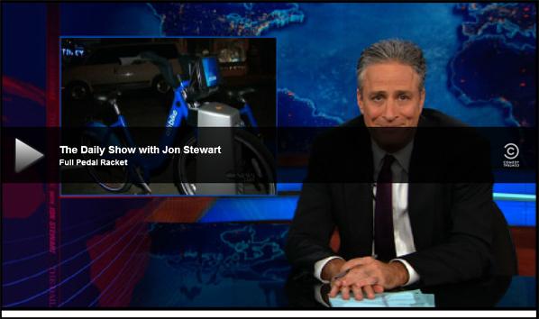 Comedy Central Does NY Bike Share
