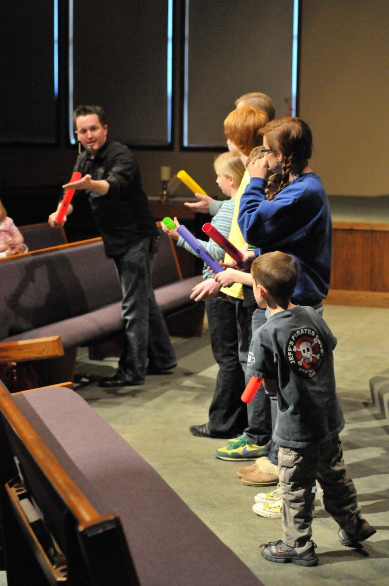 Playing the Boomwhacker Tubes