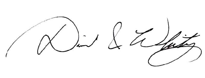 Signature of David & Whitney