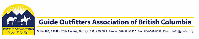 Guide Outfitters Association of BC