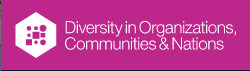 Diversity in Organizations, Communities & Nations logo