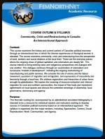 Community, Crisis & Restructuring Course syllabus