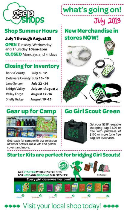 GSEP Retail Ad for July