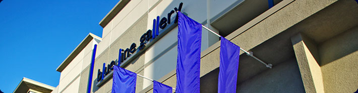 Blue Line Gallery Banner