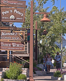 tahoe city shopping
