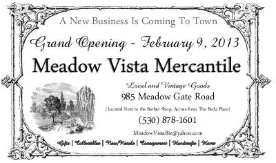 Meadow Vista Mercantile