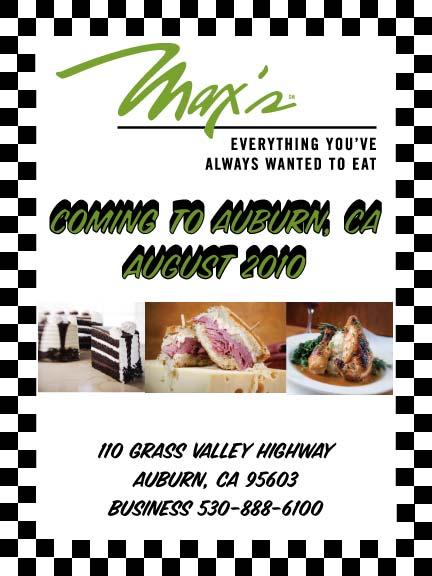 Max's Auburn
