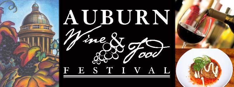 Auburn Food & Wine Logo