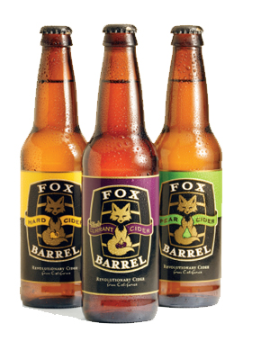 Fox Barrell Cider Bottles