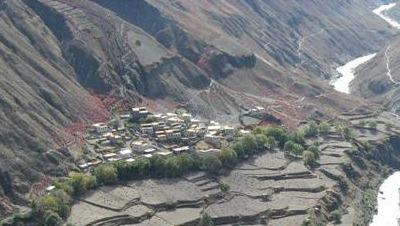 Tibetan Village by Nakamura