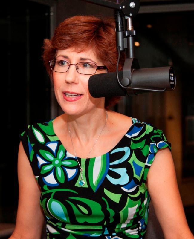 Janine Miller, K-BACH Announcer, Host