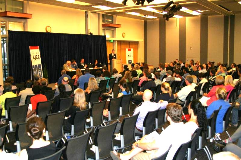 Audience and panel