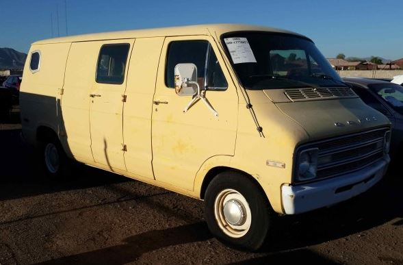 Capture1976 Dodge B200 Van donated by Kenneth G