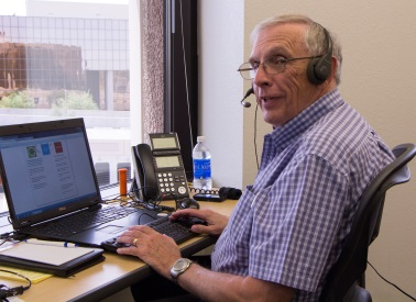 KJZZ Volunteer Tom Kenney