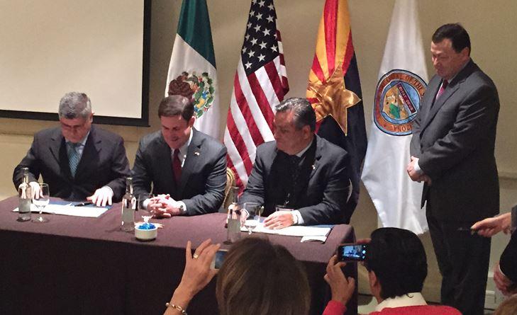 Historic Ceremony To Mark The Establishment Of The Mexico Desk