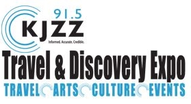 KJZZ Travel and Discovery Expo Logo