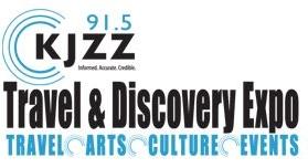 KJZZ Travel and Discovery Expo Logo