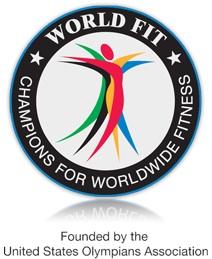 world fit logo