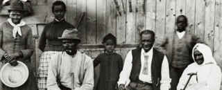 photo of Harriet Tubman and family