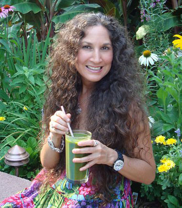 Danielle with Green Juice
