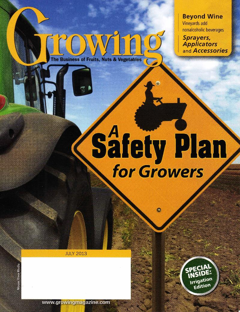 Growing Magazine Cover