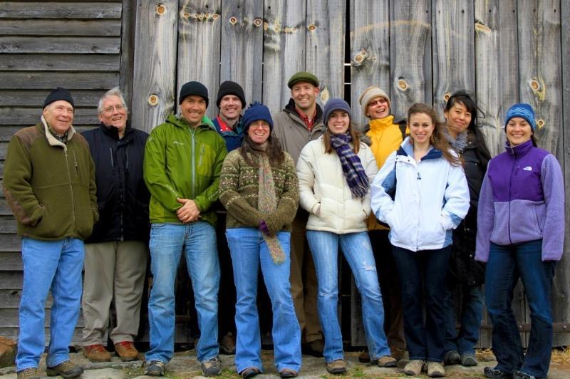 staff hike2012