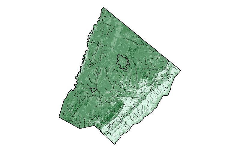 clarke co map