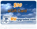 RV Accessory Gift Card
