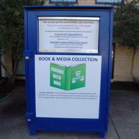 big blue bin