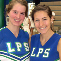 cheer captains