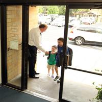 First Day Door