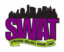 SWAT logo_ Spreading Wellness Around Town