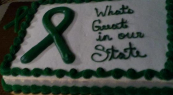 What's Great in Our State Event Cake