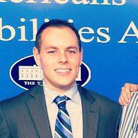Zach Garafalo at the White House