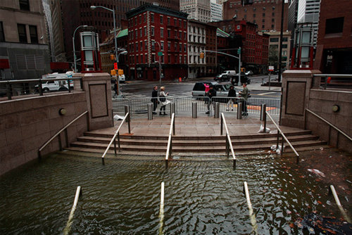 Flooding at NYC Plaza