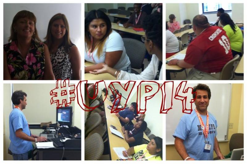 OASAS personnel, UYP! students and Greg Dicharry