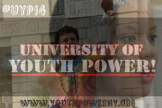 pictures of a male and female YP! member overlaid with the university of YP! logo
