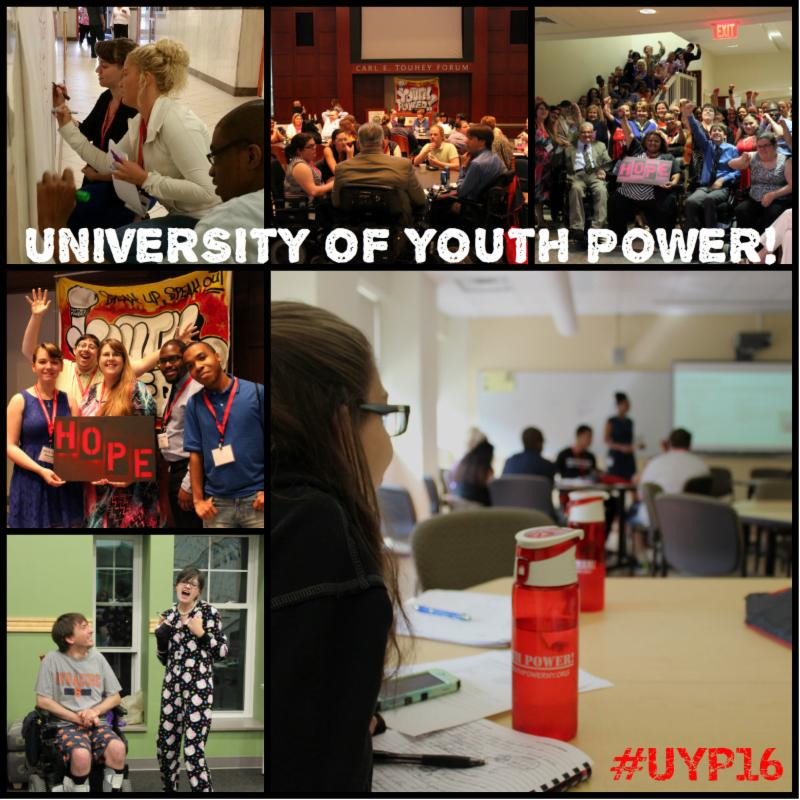 University of YOUTH POWER 2016 Collage