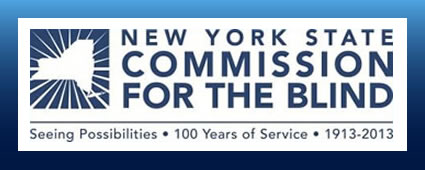 New York State Commission for the Blind Logo