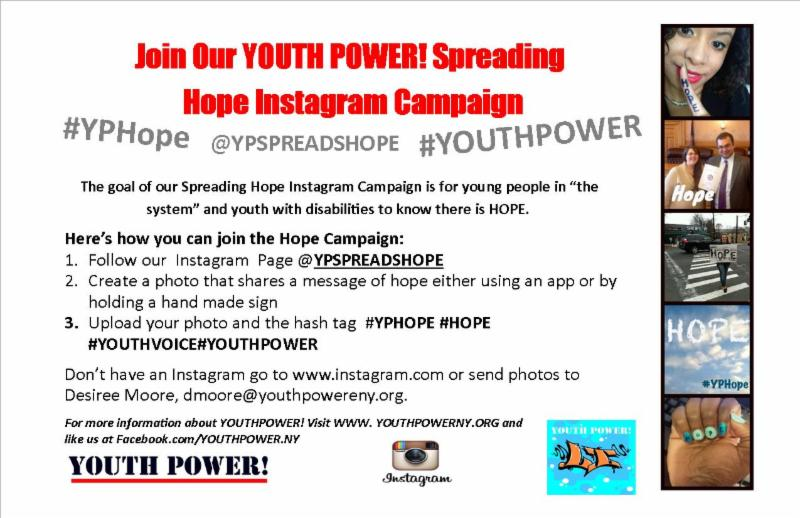 Spreading Hope YP! Campaign
