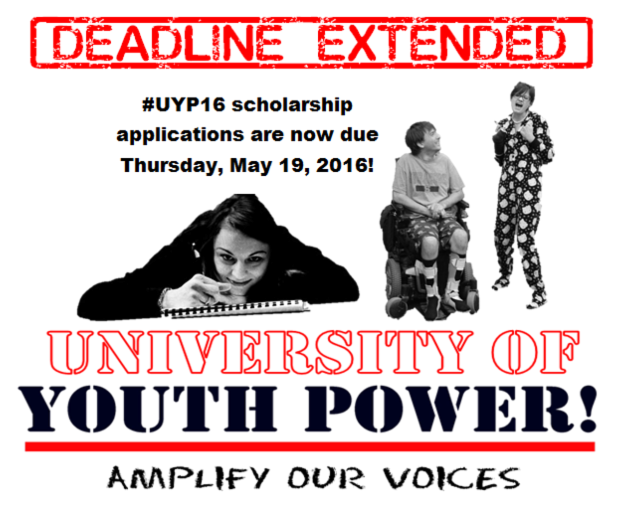 Deadline Extended graphic with image of previous year_s students